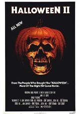 Halloween 2 - Jamie Lee Curtis - A4 Laminated Mini Movie Poster