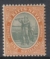 ST KITTS NEVIS POSTAGE REVENUE STAMP SG20 1/ - Mounted mint