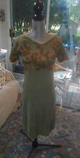 1920's Vintage Embroidered Flapper Dress