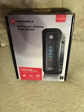 Motorola Arris SURFboard SB6121 DOCSIS 3.0 Cable Modem Black New!!!