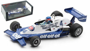 Spark S7236 Tyrrell 008 #4 3rd Argentine GP 1978 - Patrick Depailler 1/43 Scale