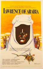 Lawrence of Arabia Vintage Movie Poster Lithograph Hand Pulled Peter O'Toole S2