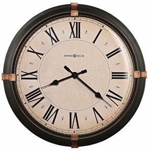 Roman Numerals Howard Miller Wall Clocks For Sale Ebay