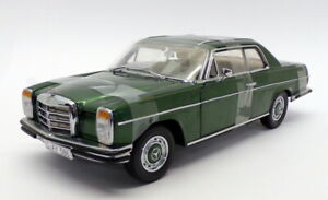 Sun Star 1/18 Scale 4586 - 1973 Mercedes Benz Strich 8 Coupe  - Green