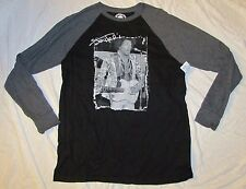 MENS LONG SLEEVE T-SHIRT XL 46/48 JIMI HENDRIX CLASSIC ROCK GRAPHIC TEE GREY NEW