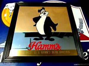 HAMM'S BEER / BEAR VINTAGE CLASSIC MIRROR