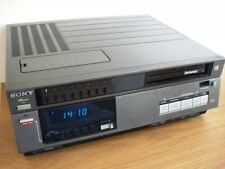 Sony Betamax SL-C6UB Video Recorder - Fully Working - New Heads and Belts Fitted