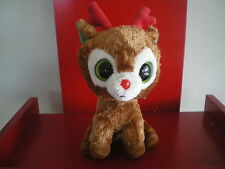 Ty Beanie Boos COMET Reindeer 6 inch size  PLEASE NOTE - NO HANG TAG.