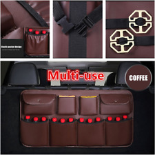 Large Capacity Car Rear Seat Back Storage Bag Multi-Use Interior Accessories