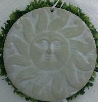 Wandbild  Sonne Deko Bild Shabby Chic Ornament 17cm m Grau Cottage