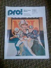 Old vintage 1973 Pro! Program booklet green bay packers buffalo bills magazine