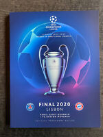 CHAMPIONS LEAGUE FINAL 2019/2020 Paris St. Germain - Bayern München, 23.08.2020