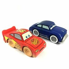 HOT Gift Toy DISNEY PIXAR CARS 2 WOOD COLLECTION Lightning McQueen Sally AK481