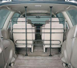 Midwest 6 Bar Tubular Metal Sport Utility SUV Van Wagon Dog Pet Vehicle Barrier