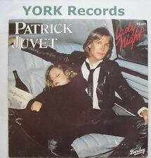 "PATRICK JUVET - Lady Night - Excellent Con 7"" Single"
