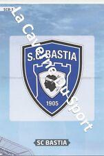 SCB-01 LOGO BADGE SCUDETTO ESCUDO # SC.BASTIA CARD ADRENALYN FOOT 2014 PANINI