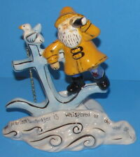 Mariner's Prayer Candle Holder fm Nautical Collection Blue Sky Heather Goldminc