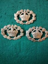 WW1/WW2 Warrant Officer Badges, Sold Separately.