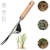 Stainless Manual Weed Puller Bend-Proof Gardening Tool Hand Weeder Weed Puller