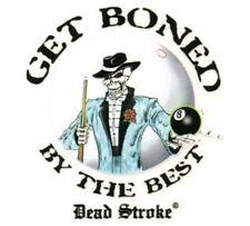 DEAD STROKE GET BONED POOL DECAL