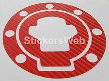 Adesivo Tappo Serbatoio SUZUKI GSXR 1300 Hayabusa 99-05 (Carbonio Rosso) C.0518