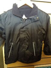 New NAVY BLUE Reversible COAT Age 5-6 childrens jacket high quality clothing