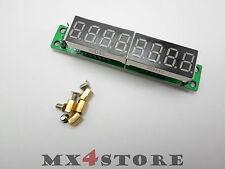 LED 7 Segment 8-digit Anzeige MAXIM MAX7219 Arduino STM32 452