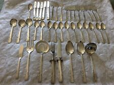 Vtg 38p Rogers-Oneida Ltd~Proposal~Silverplate Flatware With Silverware Chest