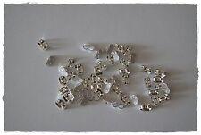 20 Ohrstopper für Ohrstecker Ohrmuttern versilbert Ohrring Verschluss Nickelfrei