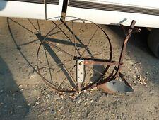 New listing Antique HighWheel Plow Cultivator Yard Art Country Rustic Rural Garden Farm Dair