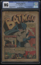 Detective Comics #35 Coverless Cream-Off White Pages Batman Smoking Gun Splash