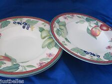 Johnson Brothers AUTUMN GROVE Rimmed Soup Bowl (s) multiples Pear, Apple ^