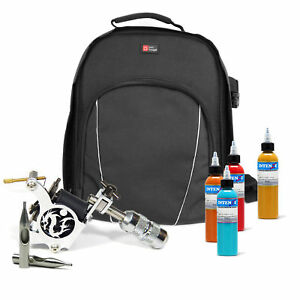 Deluxe Storage Backpack / Rucksack Carry Case for Tattoo Equipment