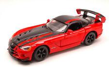 Dodge Viper Srt 10 ACR 2007 Red / Black 1:24 Model BBURAGO