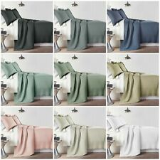 Yuma 3-piece Stitched Quilt Set, Pre-Washed Cotton Bedspread Coverlet Set