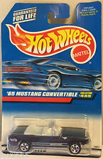 Hot Wheels 65 Mustang Convertible Ford Sp5's Blue #455 China 1998