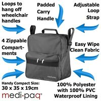 Medipaq Wheelchair Bag, Shopping, Mobility Scooter, Holdall, Disabled Storage