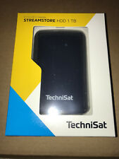 TechniSat STREAMSTORE HDD 1 TB,0000/2587,2,5 Zoll USB 3.0 Festplatte schwarz,neu