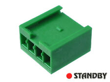 "500pcs 3.96mm (.156"") Crimp Snap-In Receptacle Housings, AMPMODU, 280591-0 AMP"