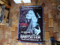 JOEL SCHUMACHER'S THE BABYSITTER 1 SHEET MOVIE POSTER AUST EDITION
