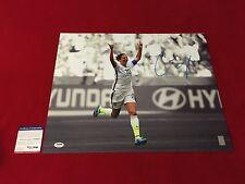 CARLI LLOYD usa womens soccer signed PSA/DNA 16X20 world cup champ 3 hat trick