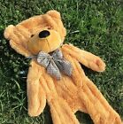 Cute 80cm Stuffed Plush Teddy Bear Toy Animal Doll Light brown gift ONLY COVER