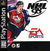 NHL 98 Playstation 1 Game PS1 Used Complete