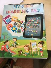 My first year Kids Ipad Tablet Laptop Computer Learning Ipad Toy funny game