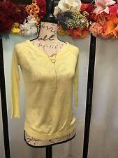 Xo Sweaters. Yellow sweater. Woman's sweater shirt.cute size xs.thin sweaters