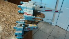 "Star Wars Giant X-Wing Fighter Ship R2D2 Toy C-2604A 30"" Hasbro + Bonus + Case"