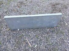 Stahlblech Stahlplatten Flacheisen Feuerverzinkt 480x170mm, Stärke 20mm,
