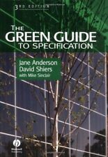 The Green Guide to Specification,Jane Anderson, David Shiers, Mike Sinclair