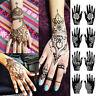 DIY Body Art Henna Template Sticker Tattoo Stencils Temporary Hand Decal