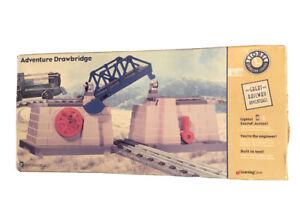 1999 Lionel Learning Curve Adventure Drawbridge #92101 Lights And Sound NIB